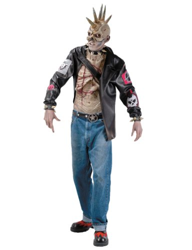 Punk Zombie Costume for Men. Ideal for Halloween