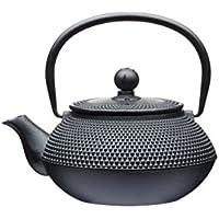 Kitchencraft Le 'Xpress japanese-style Infusor de hierro fundido tetera, 600ml (3tazas), color negro