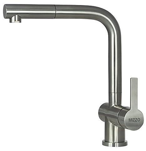 Kitchen Faucet/ Kitchen Tap Mizzo - Kitchen Sink Tap Avora - Kitchen Sink Faucet Stainless Steel - Faucet Mixer Taps 360 degree swivel - Kitchen Sink Taps