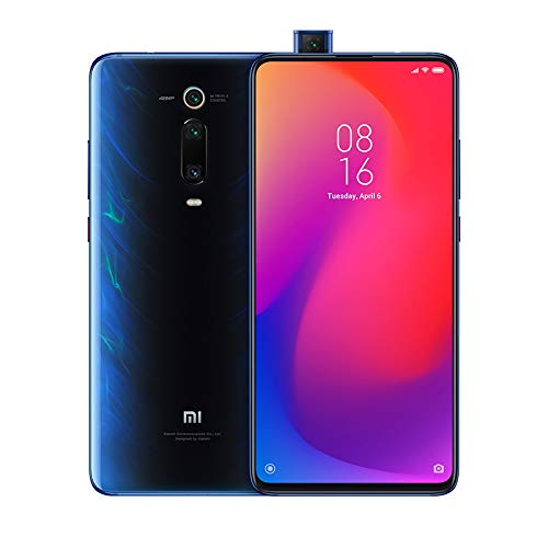"Xiaomi Mi 9T Pro - Smartphone con Pantalla AMOLED Full-Screen de 6,39"" (Qualcomm SD 855, Selfie Pop-up, Triple Cámara de 13 + 48 + 8 MP, 4000 mAh, con NFC, 6+128 GB), Azul Glaciar [Versión española]"