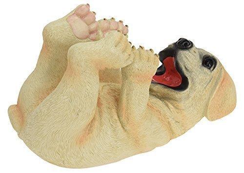 CHICCIE Hund Weinflaschenhalter - Labrador Geschenkverpackung Figur Hund Welpe
