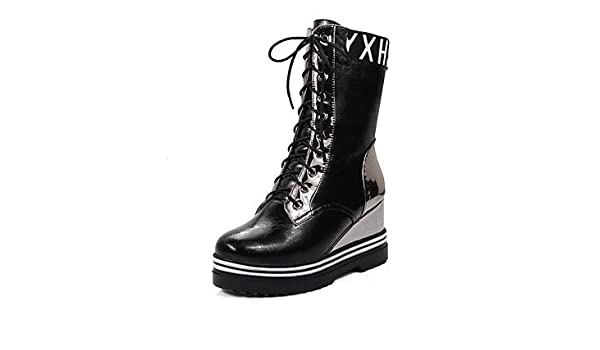 quality design a3949 b987f Women's Shoes Winter Combat Boots / Round Toe Boots Dress ...