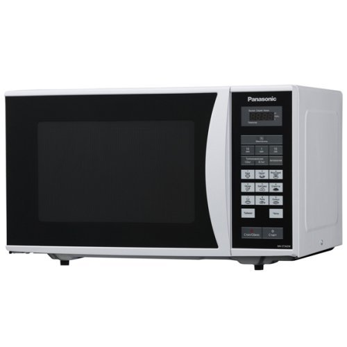 Panasonic-NN-ST342M-25-Liter-Microwave-Oven-220-volt-Non-USA-Compliant-Silver