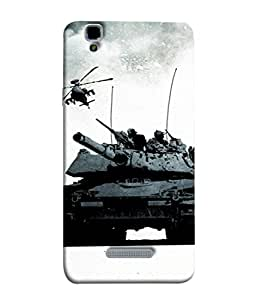 Fuson Designer Back Case Cover for YU Yureka Plus :: Yu Yureka Plus YU5510A (Military Army Proud Indian Youth Young Men)