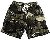 VanessasShop Camouflage Jungen Badeshorts in den Größen 98-158 (134-140)