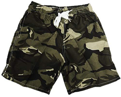VanessasShop Camouflage Jungen Badeshorts in den Größen 98-158 (98-104)