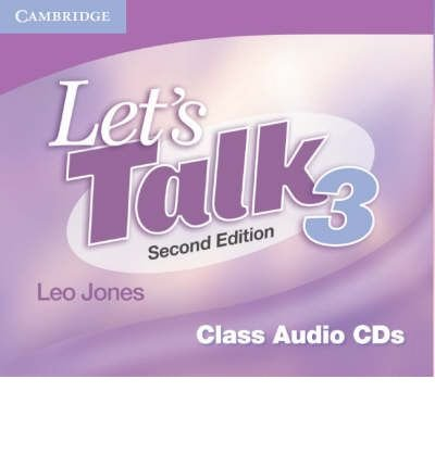 [(Let's Talk Level 3 Class Audio CDs (3): Level 3)] [Author: Leo Jones] published on (October, 2007)