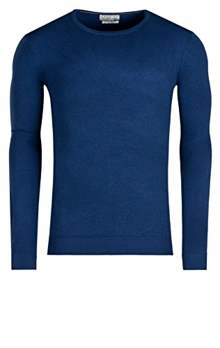 JACK & JONES PREMIUM Herren Pullover Prm Crew Neck Pr 7-8-9 2013 Noos Blue Depths