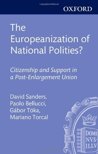 The Europeanization of National Polities?: Citizenship and Support in a Post-Enlargement Union (IntUne) by David Sanders (Editor), Paolo Bellucci (Editor) � Visit Amazon's Paolo Bellucci Page search results for this author Paolo Bellucci (Editor), G�bor T�ka (Editor), (26-Apr-2012) Hardcover