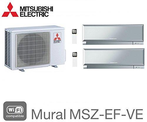 MITSUBISHI BI-SPLIT PARED INVERTER DESIGN MXZ-3E68VA + 1X MSZ-EF22VE3S + 1MSZ-EF42VE2S