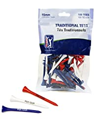 PGA TOUR Holz Golf Tees (70 mm)