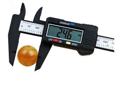 Digitale elektronische Bremssättel 0-150mm Mini Messschieber Wen spielen Schmuck messende Messschieber Hochpräzise kleine Bremssättel Innendurchmesser/Außendurchmesser/Tiefe der Präzisionsm