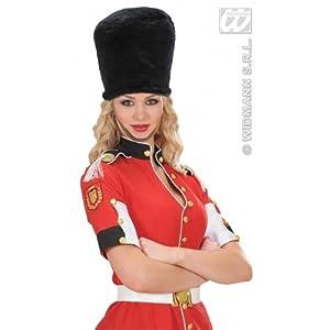 WIDMANN ?Sombrero de guardia real de peluche, color negro, talla única. Código: WDM4539R