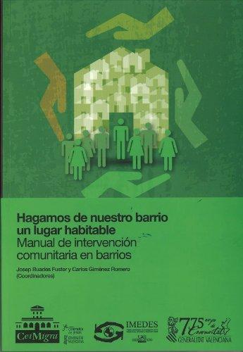 Hagamos de nuestro barrio un lugar habitable (Varios Humanidades) por Josep Buades Fuster