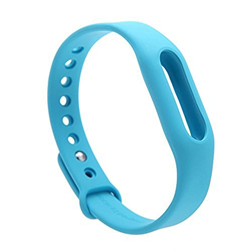 Heartly Wrist Strap Band Belt Wristband Silicone Wearable Case Cover For Xiaomi Mi Band - Dark Blue (Not For Mi Band 2)  available at amazon for Rs.179