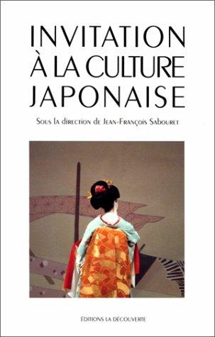 INVITATION CULTURE JAPONAISE par JEAN-FRANCOIS SABOURET