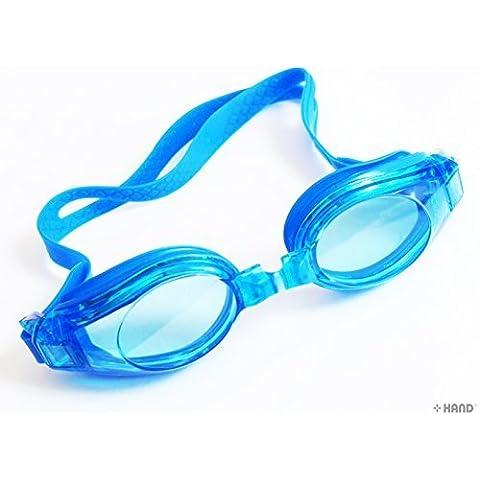 Occhialini da nuoto trasparenti, 2 paia per confezione (stile 278)