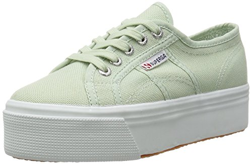 Superga 2790 Acotw Linea Up and Down, Baskets Basses Femme Vert - Grün (936)