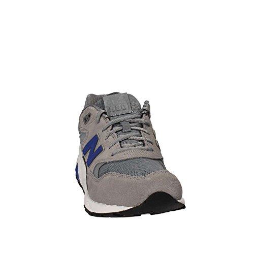New Balance - RevLite 580 - Steel Grey - Sneakers Men Bianco-Grigio-Azzuro