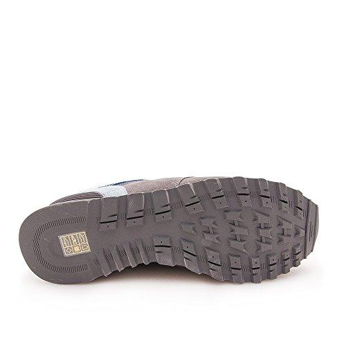 Zeraltos. Chaussures réhaussantes intérieur pour messieurs. Augmentation + 7cm. Materiel superieur: cuir de vache, respirant, confortable. Gris