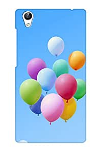 AMAN Ballons On Sky 3D Back Cover for Vivo Y51L