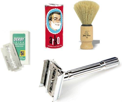 shaving-factory-sf200-kit-per-rasatura-incl-rasoio-di-sicurezza-a-doppio-filo-sapone-da-barba-in-sti