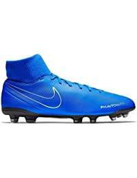 online retailer bb647 200df Nike Men s Phantom VSN Club DF FG MG Racer Blue-Black Football Shoes (