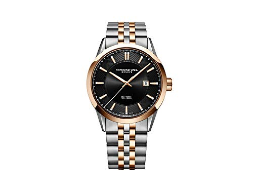 Montre Automatique Raymond Weil Freelancer, 42 mm, Noir, PVD, 2731-SP5-20001