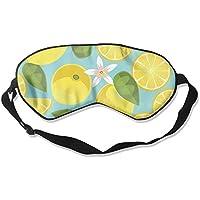 Comfortable Sleep Eyes Masks Nice Lemon Printed Sleeping Mask For Travelling, Night Noon Nap, Mediation Or Yoga preisvergleich bei billige-tabletten.eu