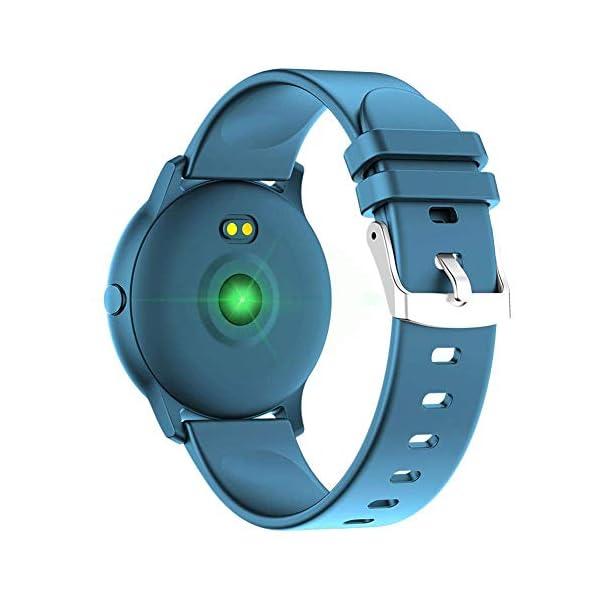 Naack Reloj Inteligente Pulsera Monitor de frecuencia cardíaca smartwatch Monitor De Ritmo Cardíaco Mujeres Hombres… 4