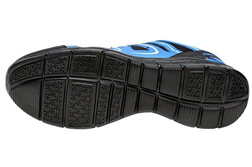 Gibra Scarpe da Corsa Uomo Nero/Blu