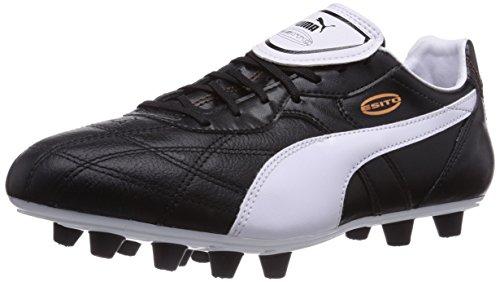 Puma Esito Classico FG, Herren Fußballschuhe, Schwarz (black-white-bronze 01), 44 EU (9.5 Herren UK)