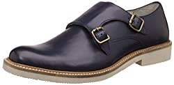 United Colors of Benetton Mens Blue (901) Leather Formal Shoes - 8 UK/India (42 EU)