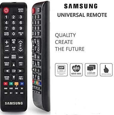 worldz samsung Universal Remote Control for LED/LCD/Plasma TV (Black)