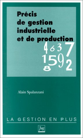 Précis de gestion industrielle et de production