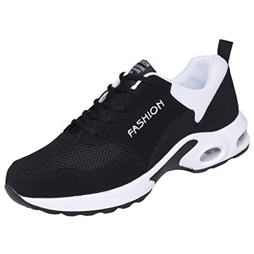 VBWER Unisex Uomo Donna Scarpe Sneaker Slip On Air Pad Walking Sneakers Outdoor Lace Up Leggero Scarpe Casual Scarpe Traspirant