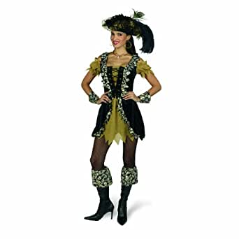 Sexy Pirate Costume - Short Dress With Lacing - Fancy Dress Women - 36/38