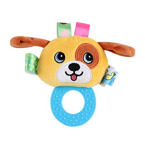 Wafalano Biss Rasseln Ball Greifen Ball Niedlichen Plüsch Weichen Tuch Hand Rasseln Bildung Spielzeug Säuglingskomfort Schlafen Spielzeug