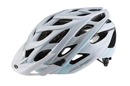 ALPINA D-Alto Helmet White-Blue-Silver Kopfumfang 52-57cm 2020 Fahrradhelm