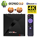 Android 9.0 TV Box, Android Box 4 GB RAM 32 GB...