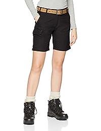 CMP Pantalones Bermuda, Mujer, Bermuda, Antracita, Extra-Small