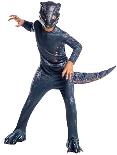 Kostüm Jungen Raptor - Rubie's Jurassic World: Fallen Kingdom Indoraptor Dinosaur Fancy Dress Costume Large