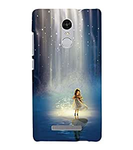 Takkloo cute girl girl playing violin,girl in water, twinkling stars) Printed Designer Back Case Cover for Xiaomi Redmi Note 3 :: Xiaomi Redmi Note 3 Pro :: Xiaomi Redmi Note 3 MediaTek