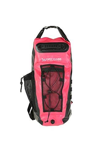DryCASE Dry Case Basin Sport 20 L Rucksack, Outdoor; Wanderrucksack, Farbe Pink/Schwarz, 55.88 x 17.78 x 33.02 cm, 20 Liter, wasserdicht mit Ventil und Saugnäpfen