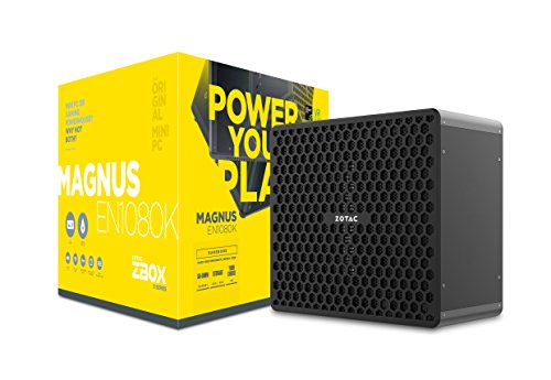 Zotac ZBOX en1080 K-Be Bar Bone NVIDIA gtx1080 intelâ Core i7 – 7700 2 X DDR4 SODIMM Slots M2 SSD Slot 2.5 SATAIII Bay WiFi BT VR Read du