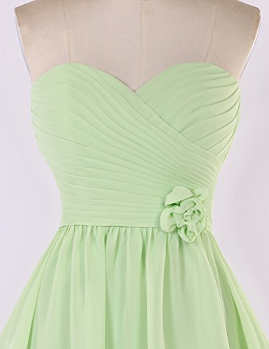Bridal_Mall - Robe - Femme Vert - Light Green