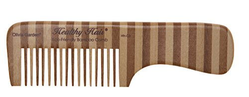 Olivia Garden - HHC3 - Healthy Hair - Eco Friendly Bamboo Comb