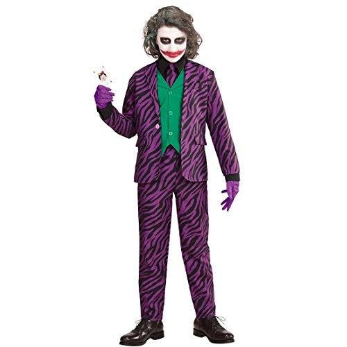 r Kostüm Bösewicht Halloweenkostüm 140, 8 - 10 Jahre Schurke Karnevalskostüm Jungen Kinderkostüm Halloween ()