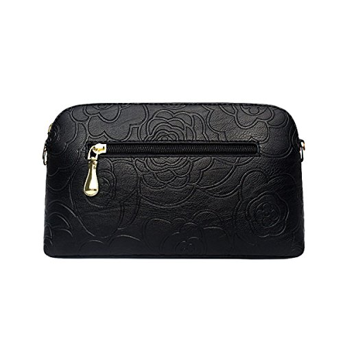 Ms. Messenger Bag Spalla Dell'unità Di Elaborazione Di Cuoio Della Borsa Del Grande Borsa Femminile Borsa Casual Brown