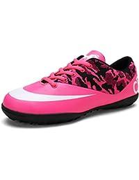 YAYADI Zapatillas De Fútbol Profesional Zapatos para Niños Varones De Fútbol Botas De Fútbol Zapatillas De Futsal…